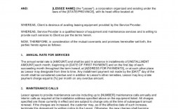 005 Phenomenal Rental Agreement Template Word Canada Example