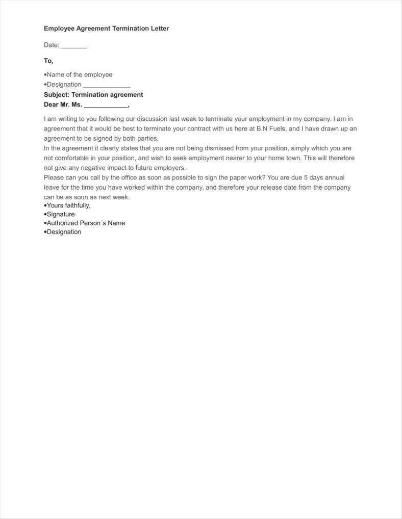 005 Phenomenal Sample Letter Of Agreement Template Design  For A In Project PrepareFull