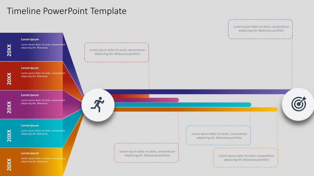 005 Phenomenal Timeline Graph Template For Powerpoint Presentation High Resolution Large