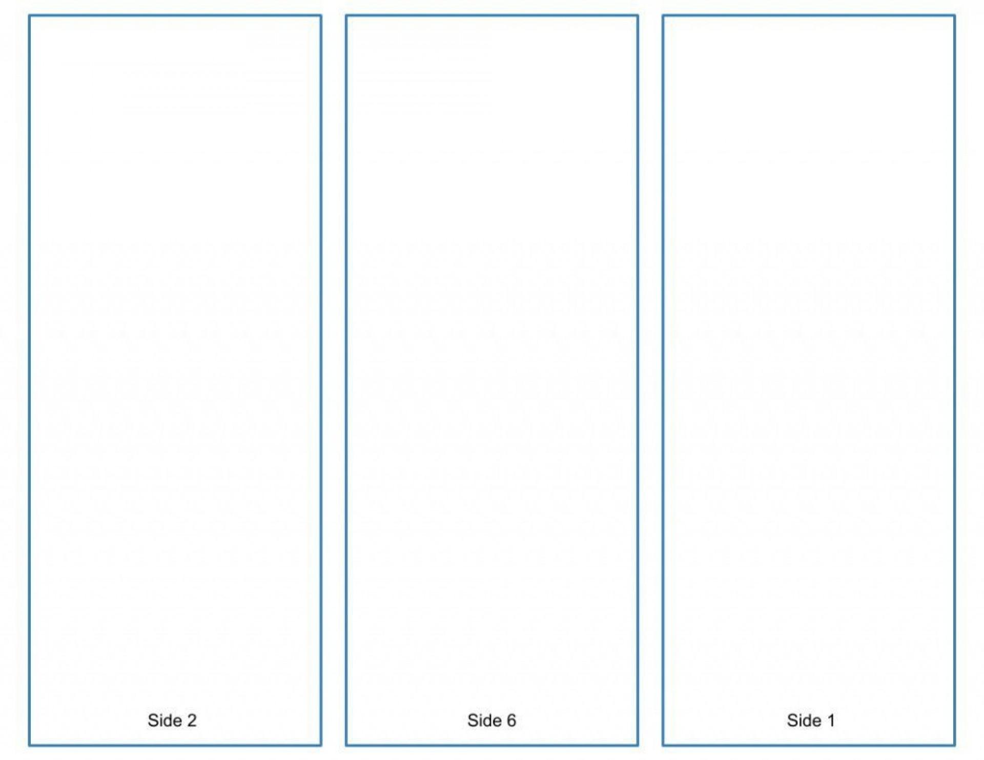 005 Rare Brochure Template Google Doc Concept  Layout Blank Tri Fold1920