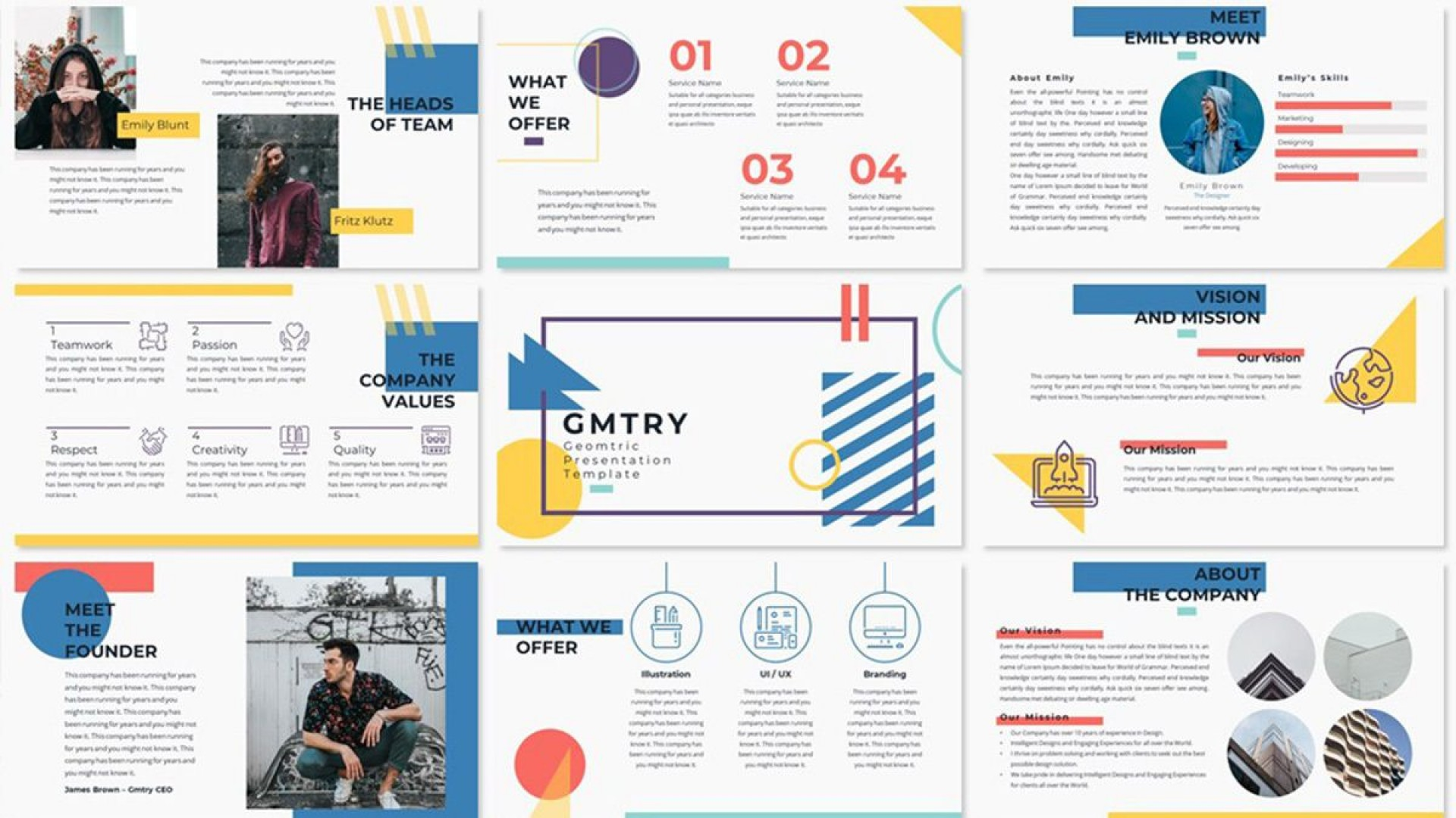 005 Rare Creative Powerpoint Template Free Concept  Download Ppt For Teacher1920