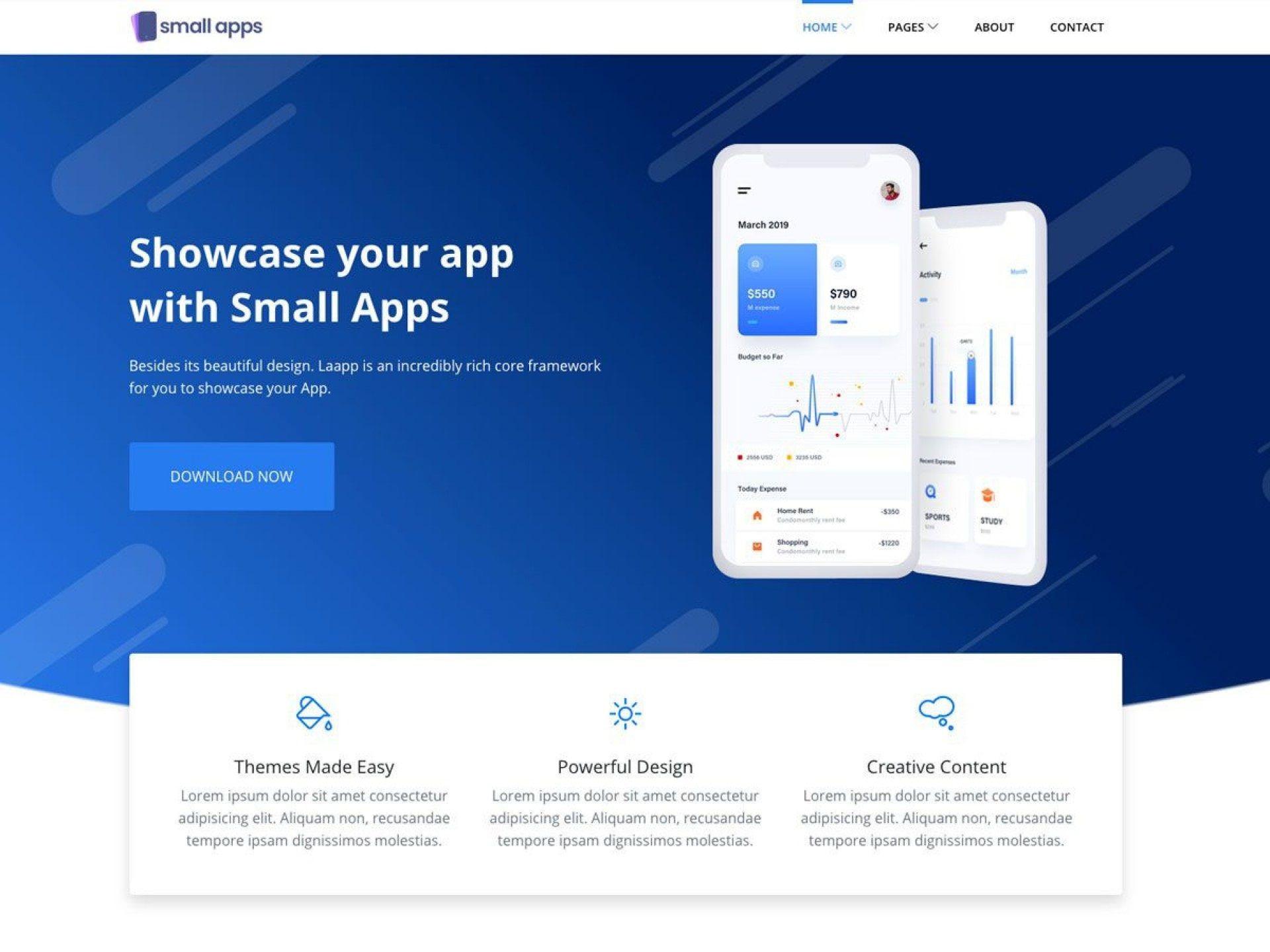 005 Rare Csvape Esponsive Mobile App Landing Page Html Template Free Download High Resolution  Csvape-responsive-mobile-app-landing-page-html-template1920