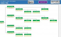 005 Rare Excel Family Tree Template Example  Templates 7 Generation Free Editable 10