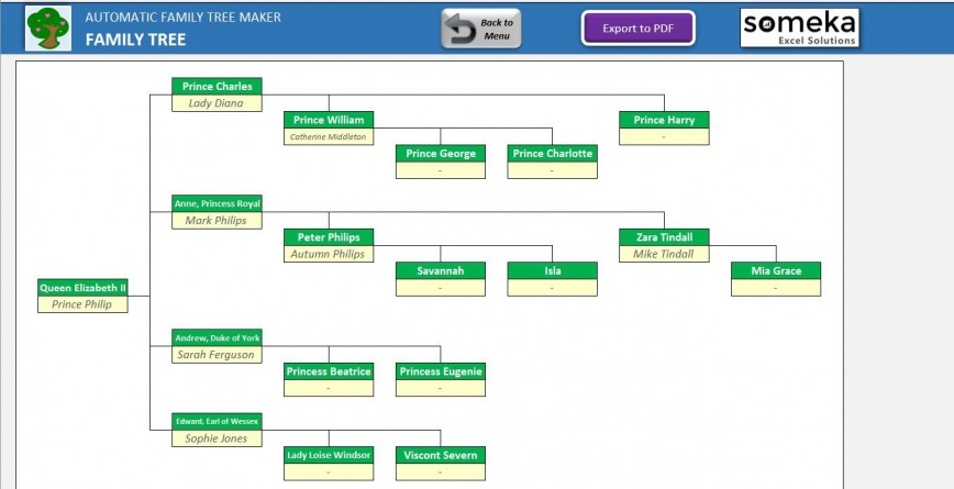 005 Rare Excel Family Tree Template Example  10 Generation Download Free Editable868