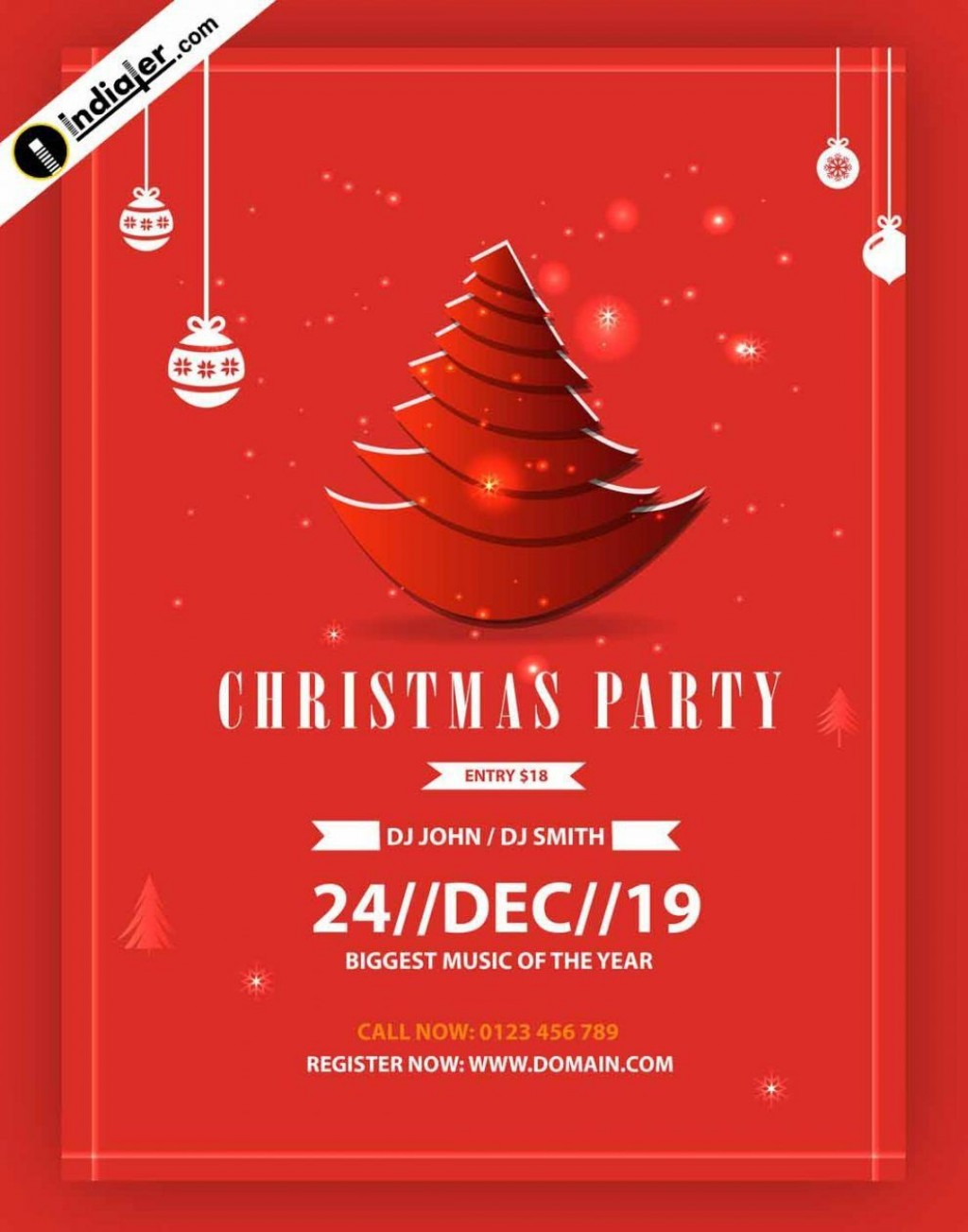 005 Rare Free Christma Poster Template Design  Uk Party Download FairLarge