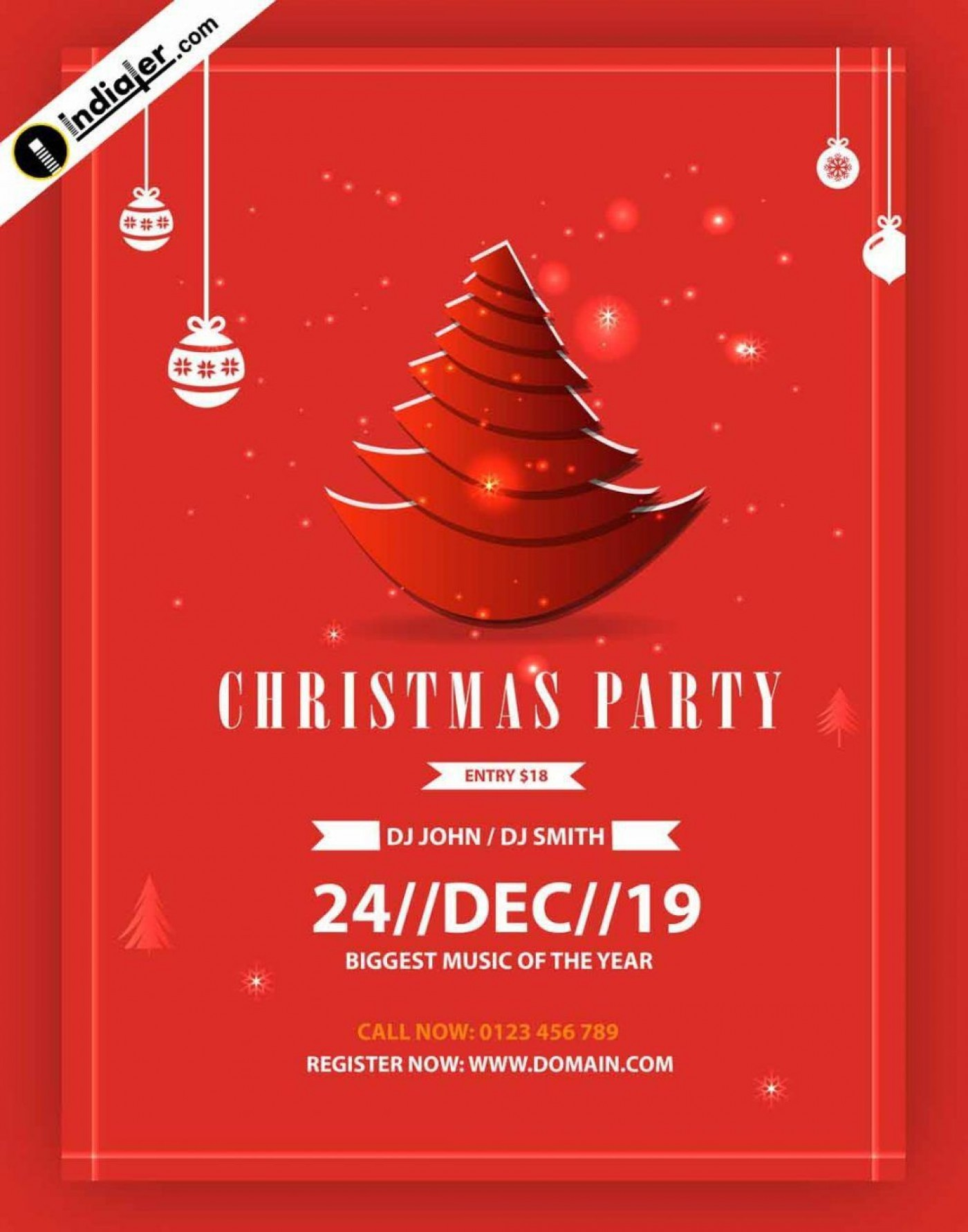 005 Rare Free Christma Poster Template Design  Uk Party Download Fair1400