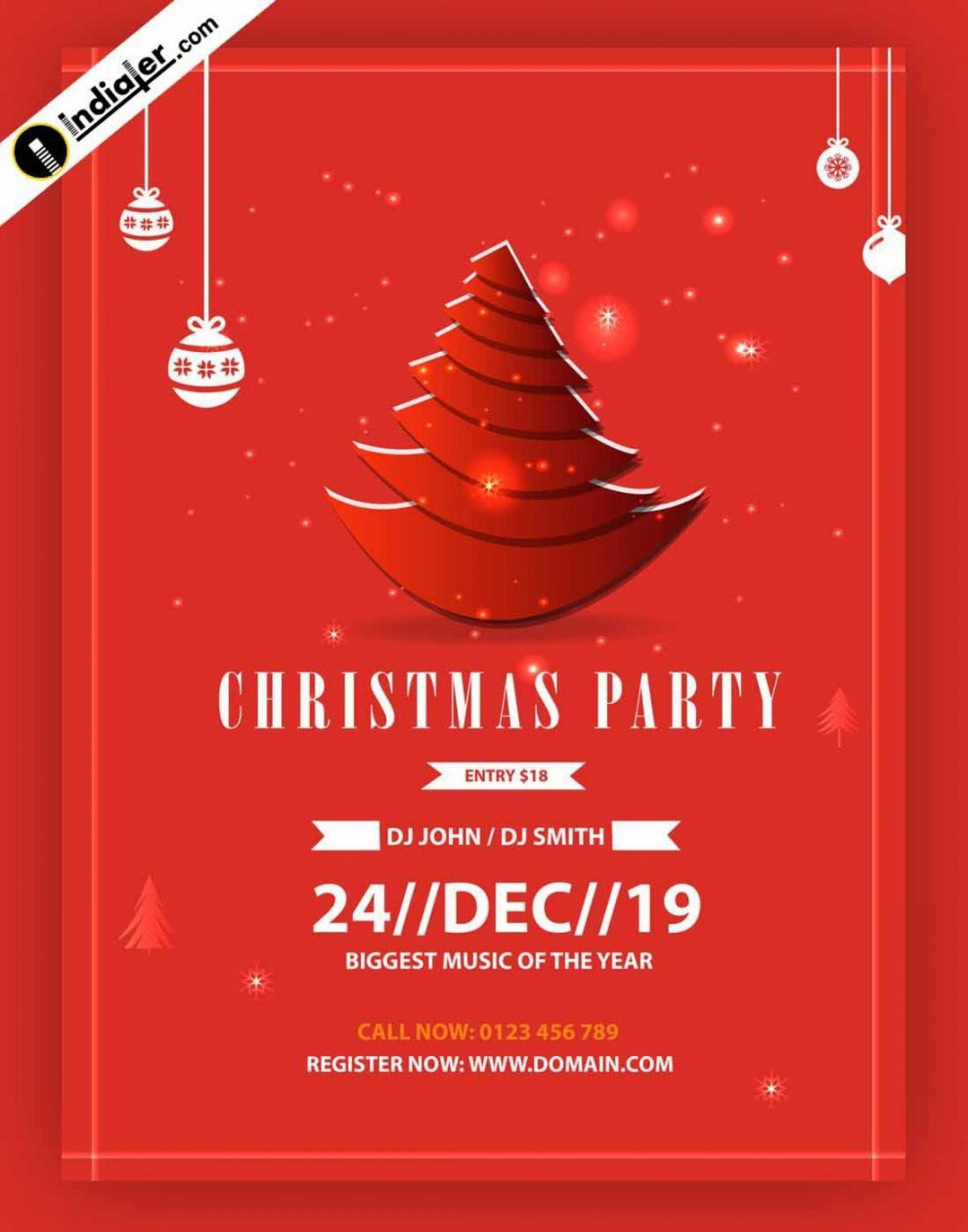 005 Rare Free Christma Poster Template Design  Uk Party Download Fair1920
