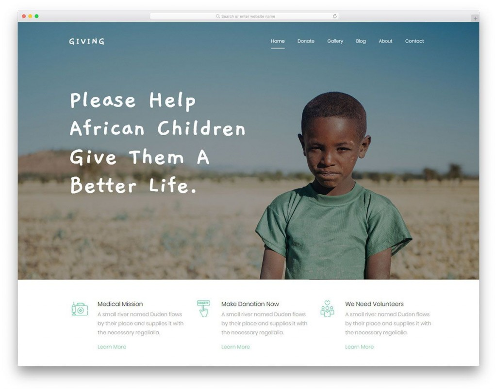 005 Rare Free Non Profit Website Template Idea  Templates Organization CharityLarge