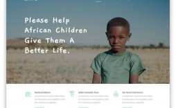 005 Rare Free Non Profit Website Template Idea  Templates Organization Charity