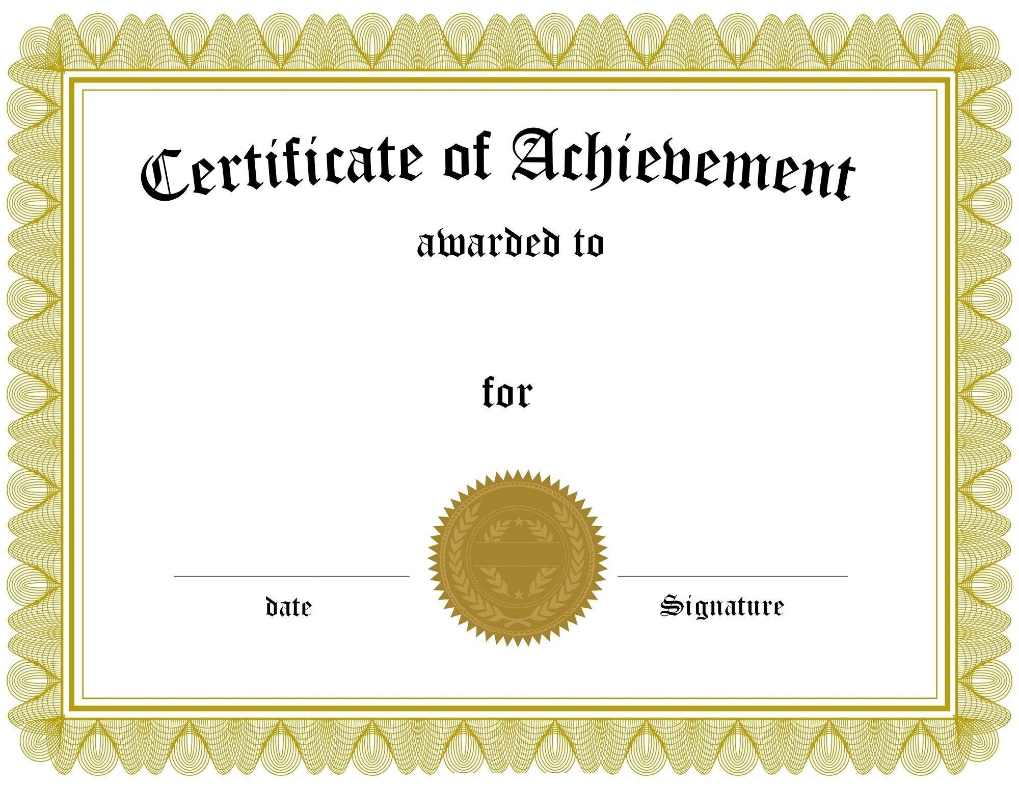 005 Rare Free Printable Certificate Template Uk Sample Full