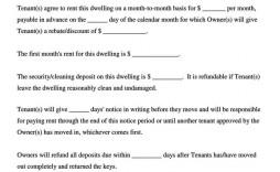 005 Rare Generic Rental Agreement Free Inspiration  Template Word Printable