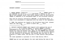 005 Rare House Rental Contract Template Image  Agreement Free South Africa Form Download Rent