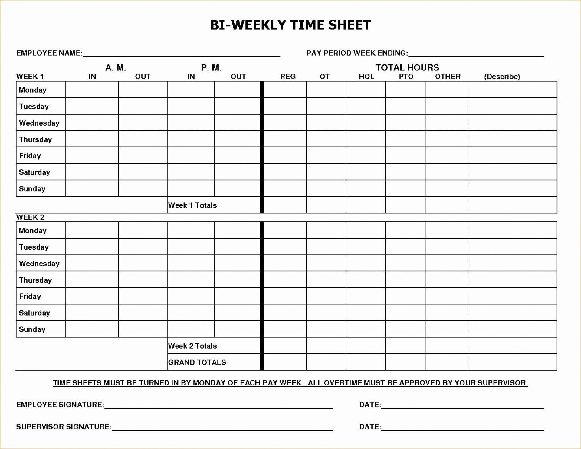 005 Rare Multiple Employee Timesheet Template Example  Schedule Job Excel1920