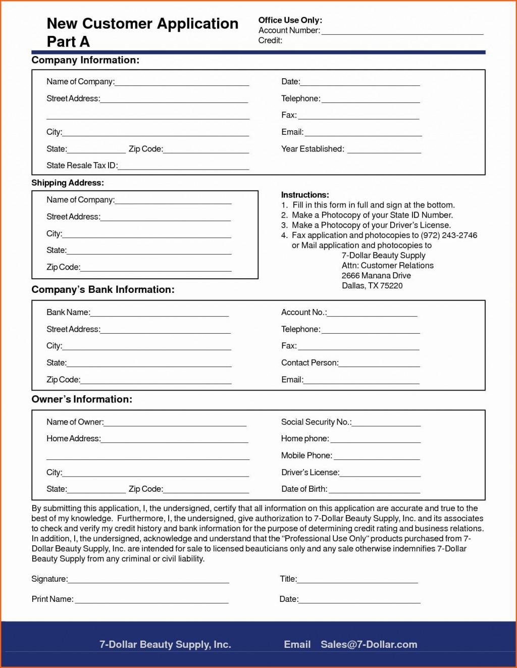 005 Rare New Customer Form Template Word Photo  Registration Account FeedbackLarge