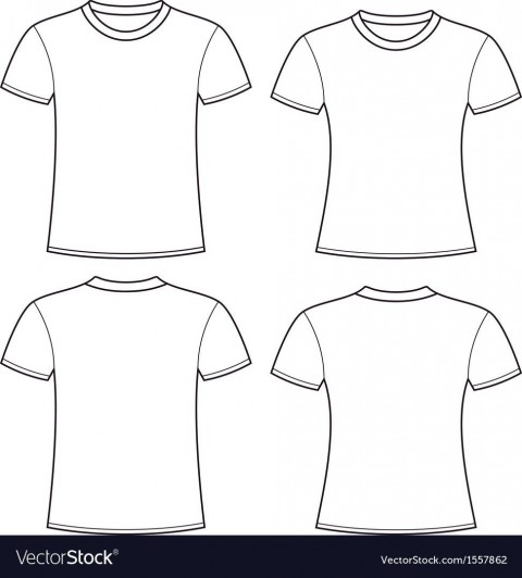 005 Rare Plain T Shirt Template Picture  Blank Front And Back480