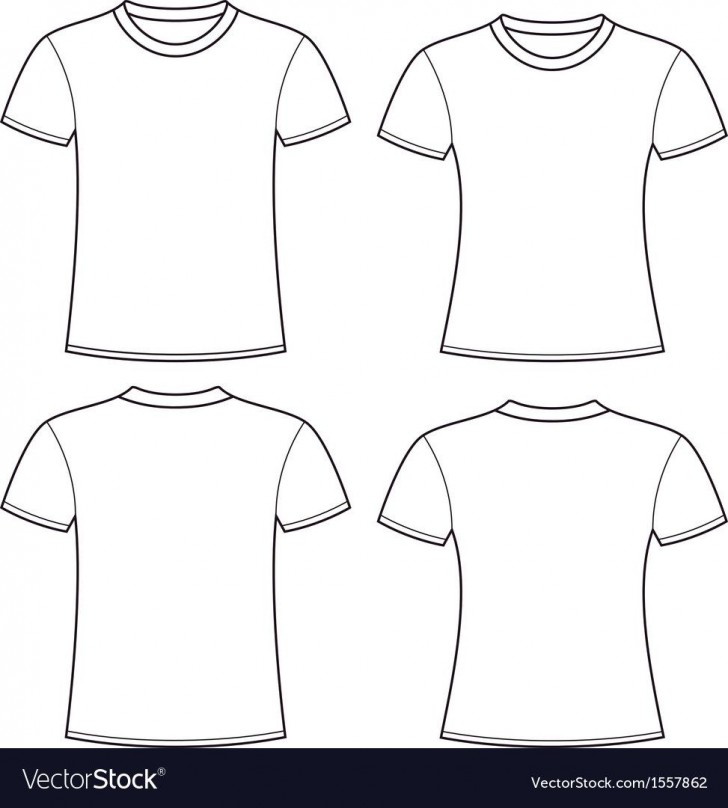 005 Rare Plain T Shirt Template Picture  Blank Front And Back728