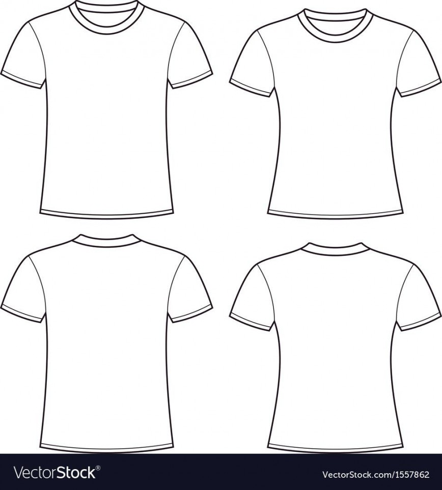 005 Rare Plain T Shirt Template Picture  Blank Front And Back868
