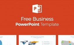 005 Rare Ppt Busines Presentation Template Free Picture  Best For Download