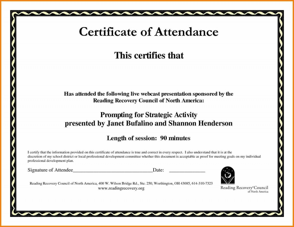005 Rare Training Certificate Template Free High Def  Computer Download Golf Course Gift WordLarge