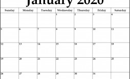 005 Remarkable 2020 Monthly Calendar Template High Definition  Templates Word Australian Free