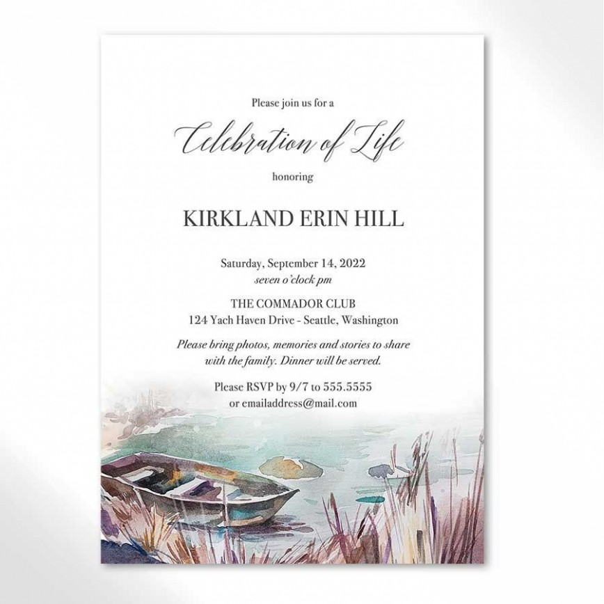 005 Remarkable Celebration Of Life Template Picture  Free Printable Program Slideshow Powerpoint