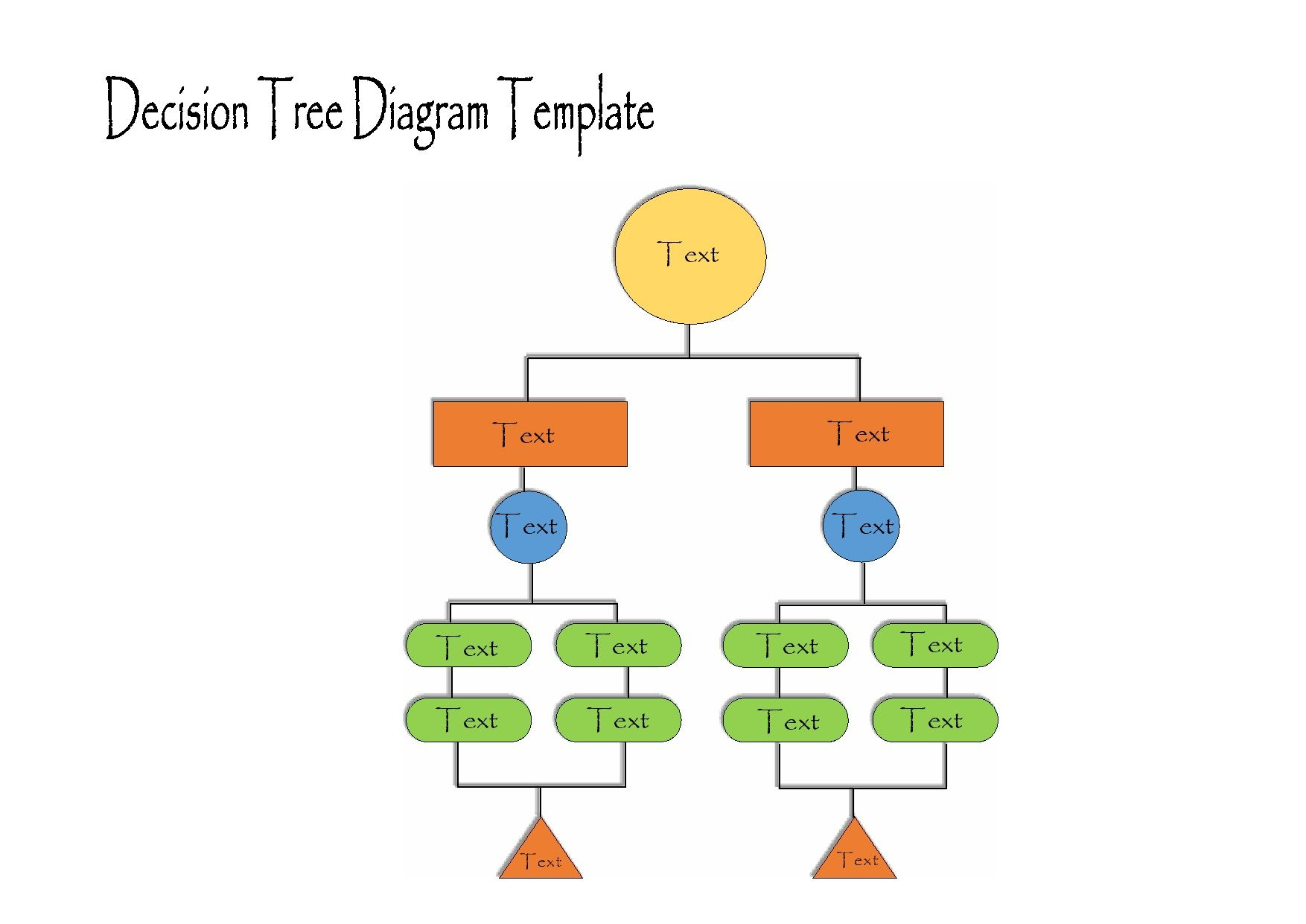 005 Remarkable Decision Tree Diagram Template Excel High Def  ChartFull