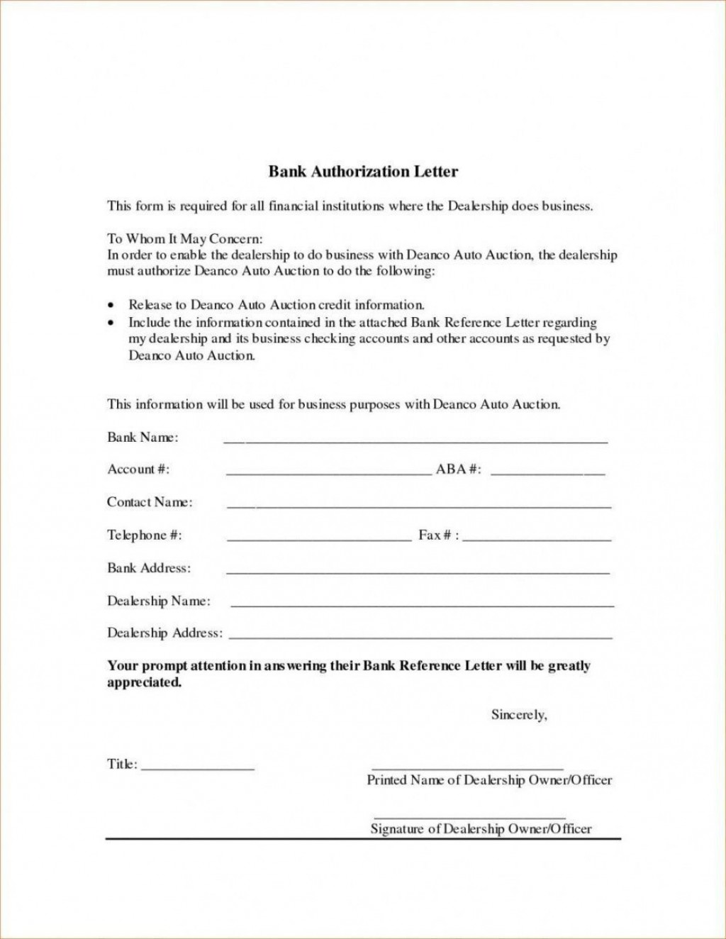 005 Remarkable Direct Deposit Agreement Authorization Form Template Inspiration Large