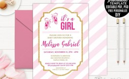 005 Remarkable Diy Baby Shower Invitation Template Highest Clarity  Templates Diaper Free