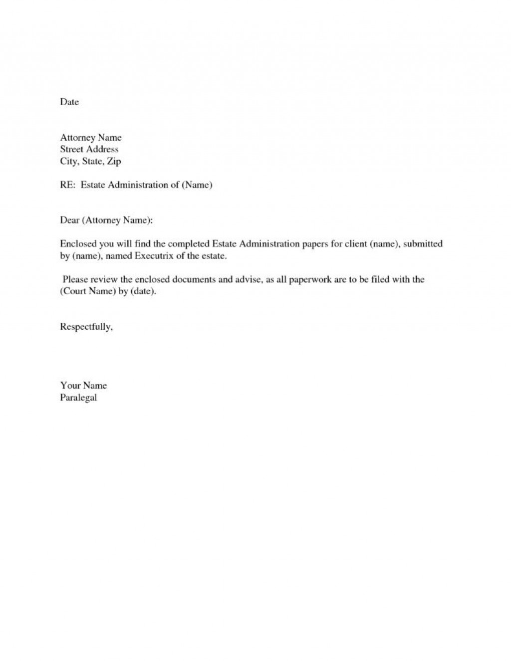 005 Remarkable Easy Cover Letter Template Example  Download Word Simple DocumentLarge