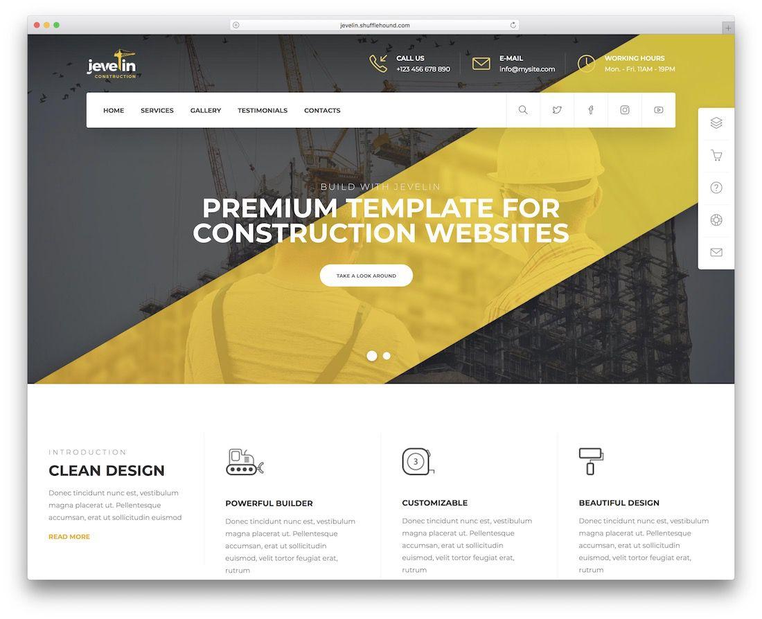 005 Remarkable Free Professional Web Design Template  Templates Website DownloadFull