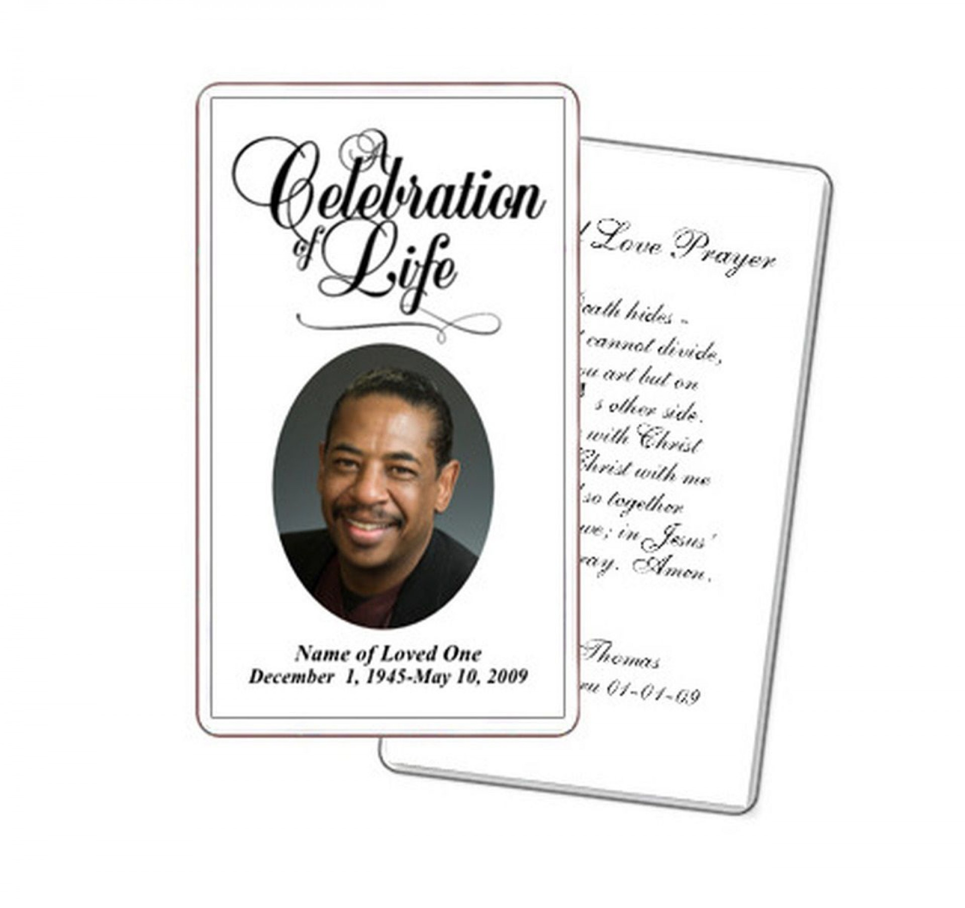 005 Remarkable Funeral Prayer Card Template Sample  Templates For Word Free1920