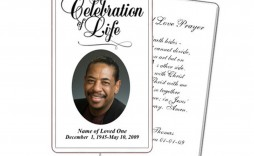 005 Remarkable Funeral Prayer Card Template Sample  Templates For Word Free