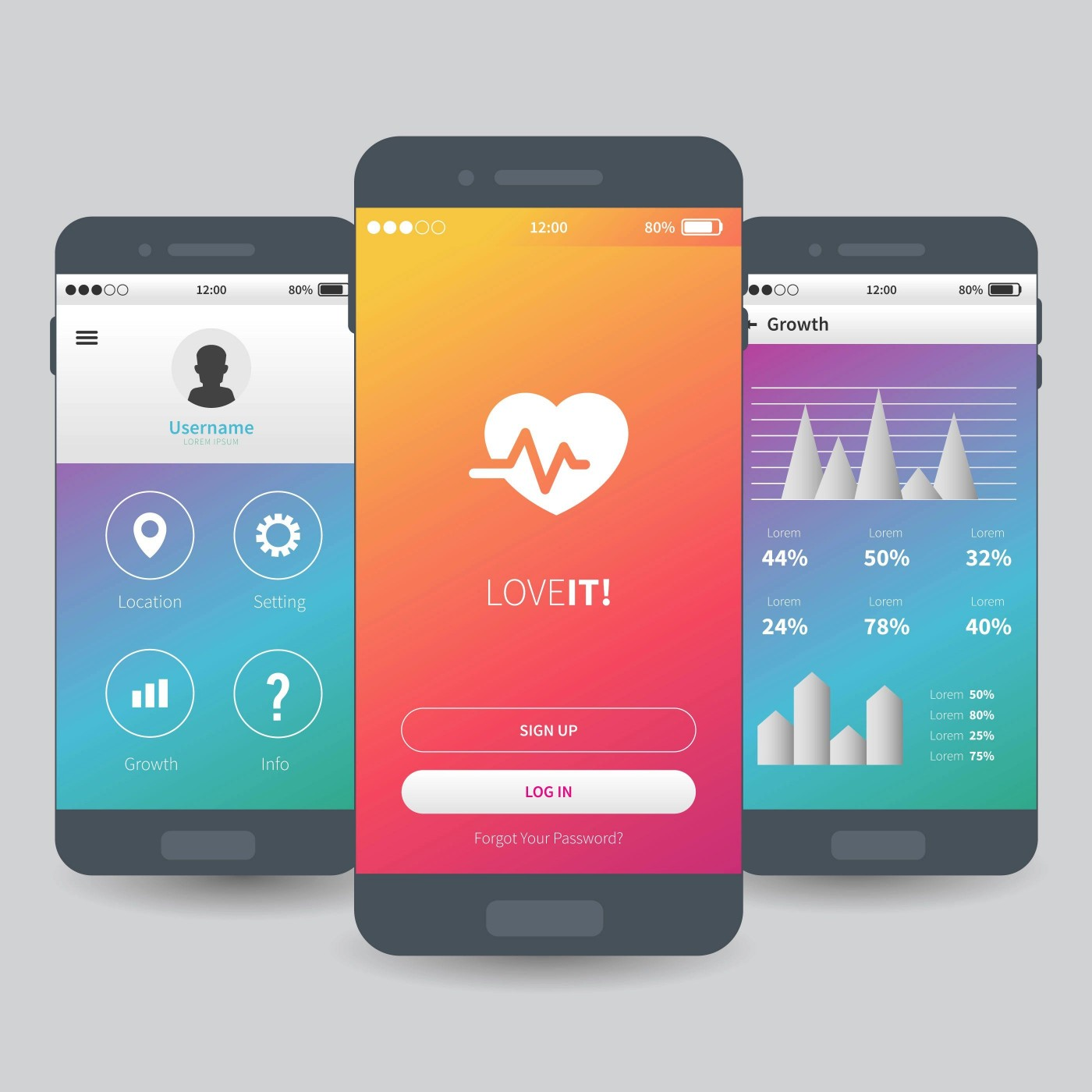 005 Remarkable Mobile App Design Template Example  Size Adobe Xd Ui Psd Free Download1400