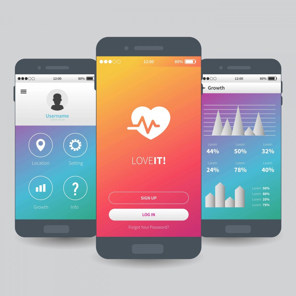 005 Remarkable Mobile App Design Template Example  Size Adobe Xd Ui Psd Free Download960