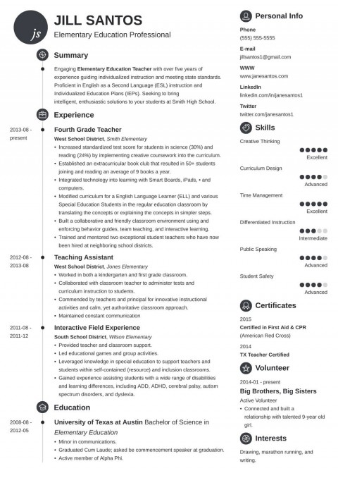 005 Remarkable Resume Template For Teacher Example  Free Download Australia Microsoft Word 2007480