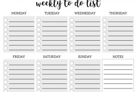 005 Remarkable To Do Checklist Template Idea
