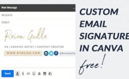 005 Sensational Email Signature Design Outlook Free Idea