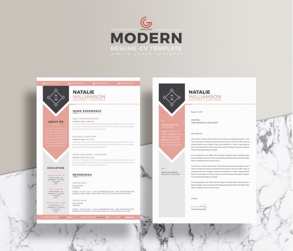 005 Sensational Eye Catching Resume Template Picture  Microsoft Word Free Download MostLarge