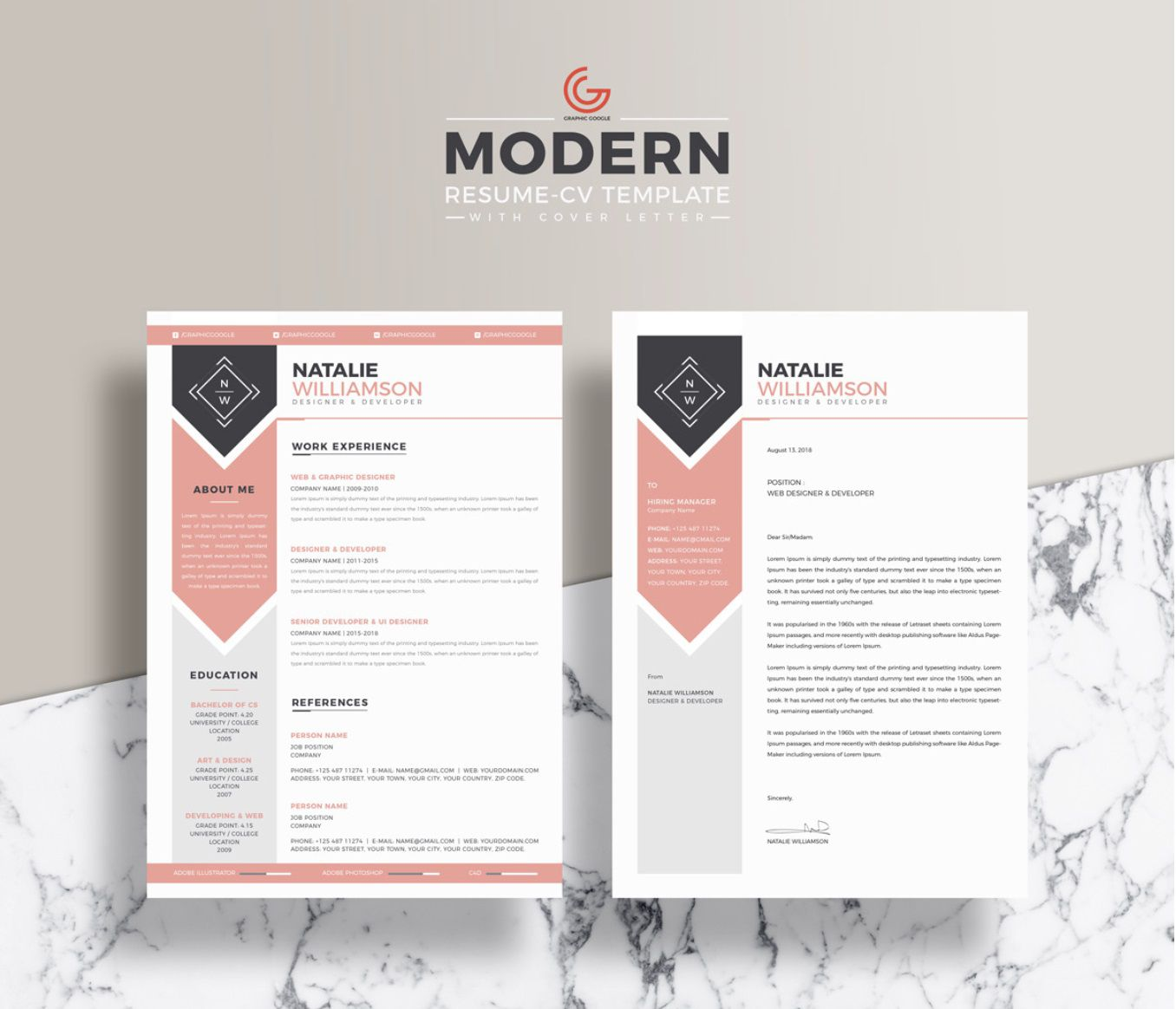 005 Sensational Eye Catching Resume Template Picture  Microsoft Word Free Download MostFull