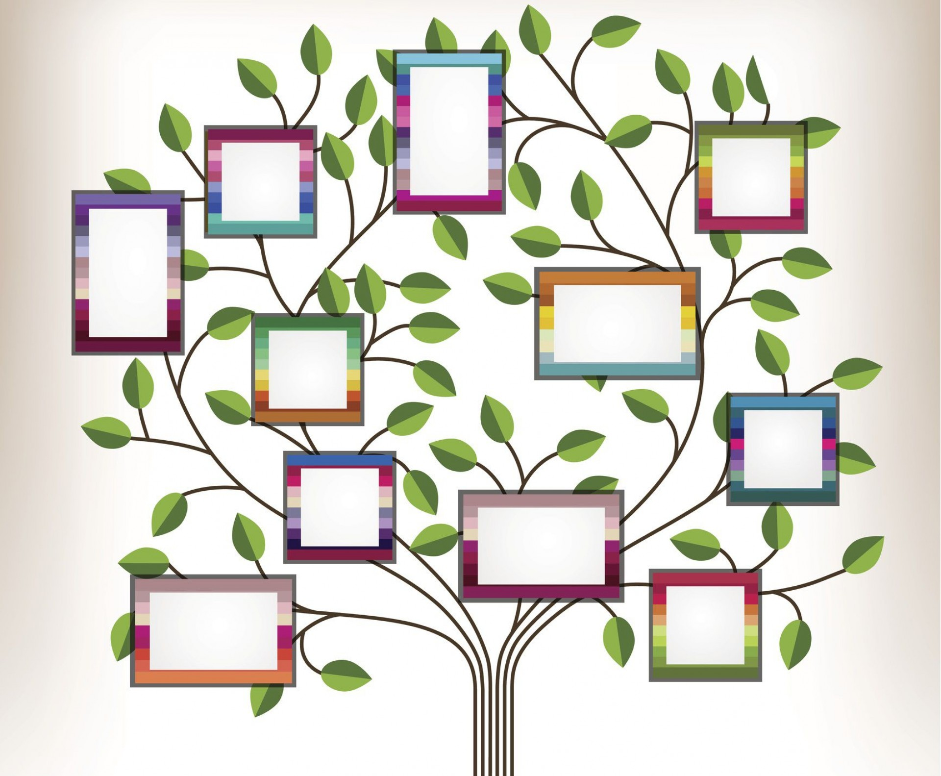 005 Sensational Family Tree For Baby Book Template Inspiration  Printable1920