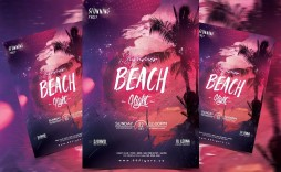 005 Sensational Free Party Flyer Template For Mac Concept