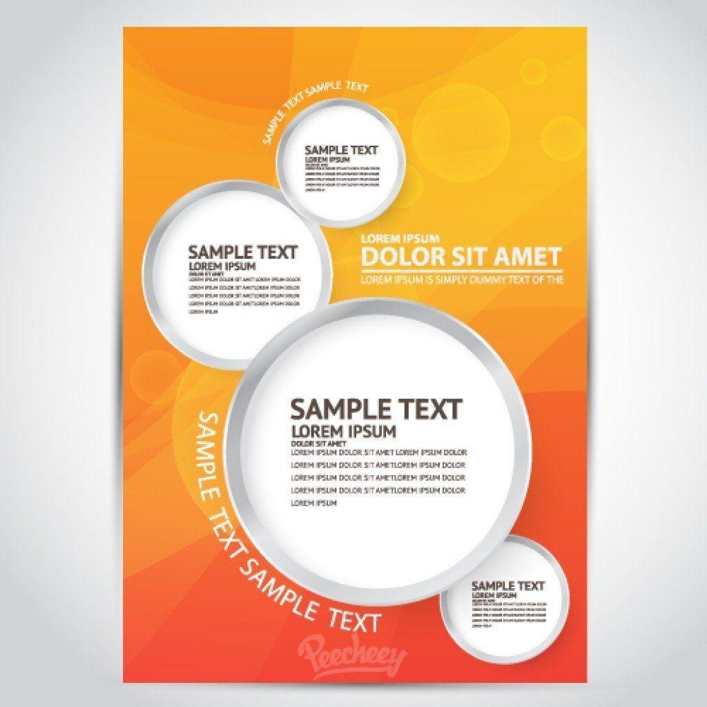 005 Sensational Free Printable Flyer Template Sample  Templates Christma Word DaycareLarge
