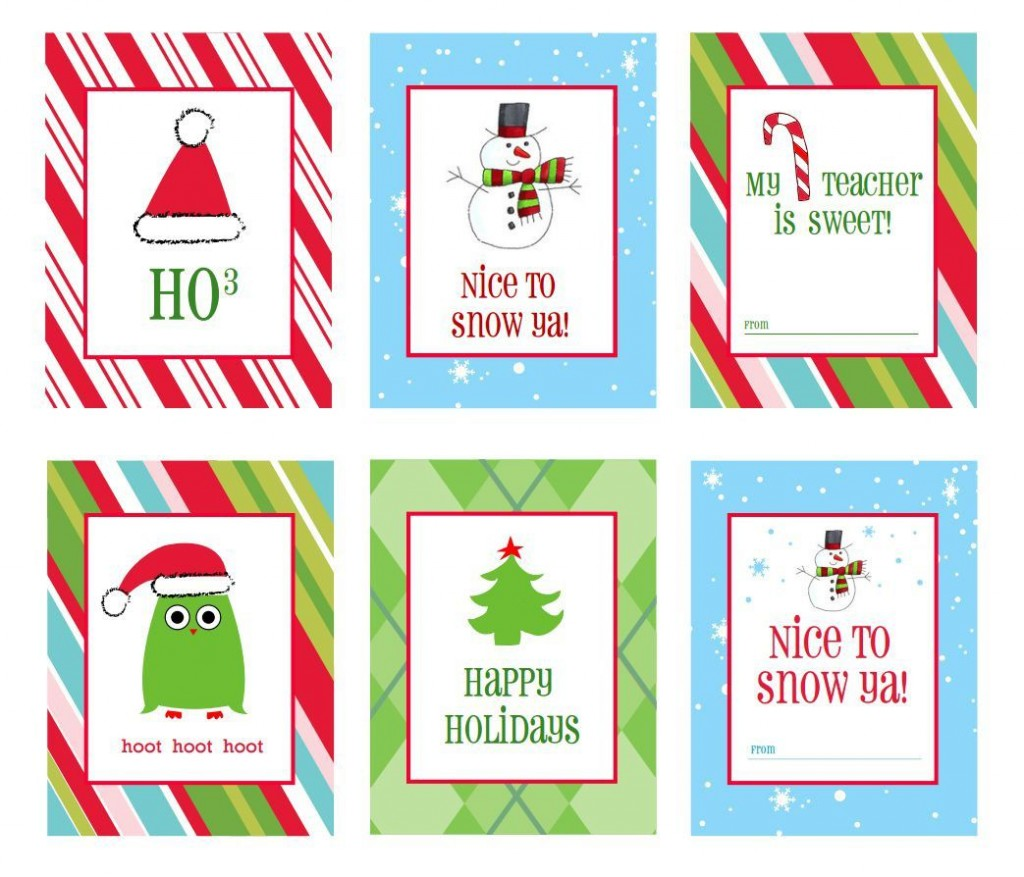 005 Sensational Printable Christma Gift Tag Template Concept  Templates Free Holiday For WordLarge