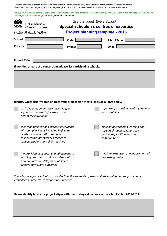 005 Sensational Project Planning Template Word Free Concept  Simple Management Plan Schedule1920