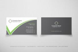 005 Sensational Simple Visiting Card Design Free Download Sample  Busines Psd File