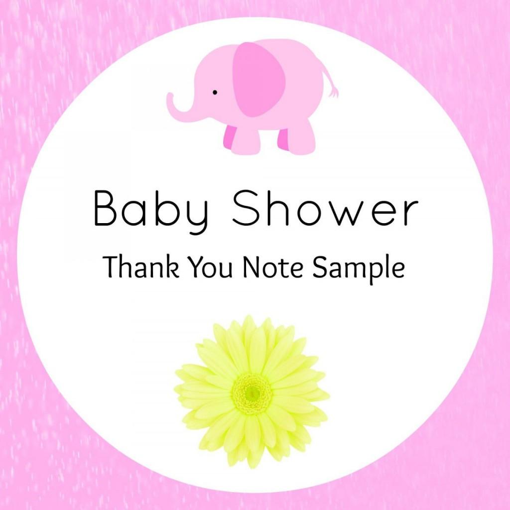 005 Sensational Thank You Note Wording Baby Shower Highest Clarity  For Hosting CardLarge