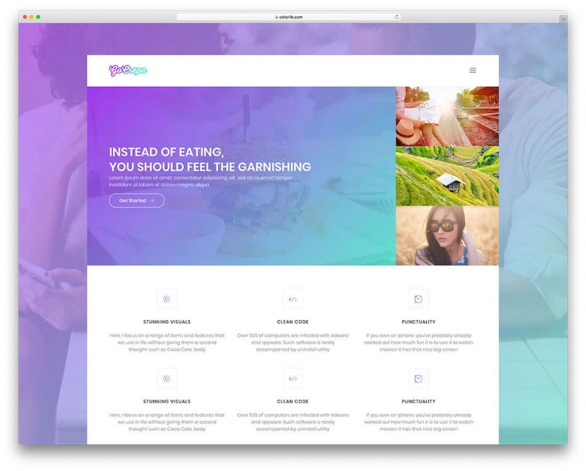005 Sensational Web Template For Photographer Highest Clarity  Photographers Photography Free1920