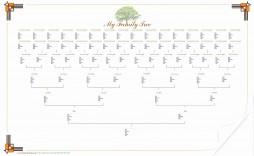 005 Shocking 7 Generation Family Tree Template Inspiration  Blank Free Editable