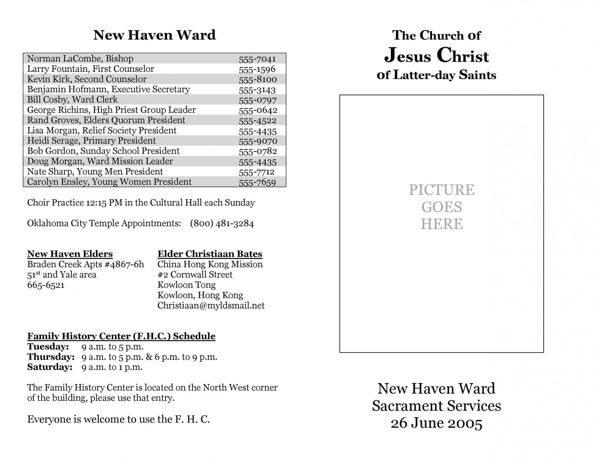 005 Shocking Church Bulletin Template Word Example  Program Free Wedding1920