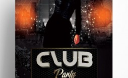 005 Shocking Club Party Flyer Template Free Design